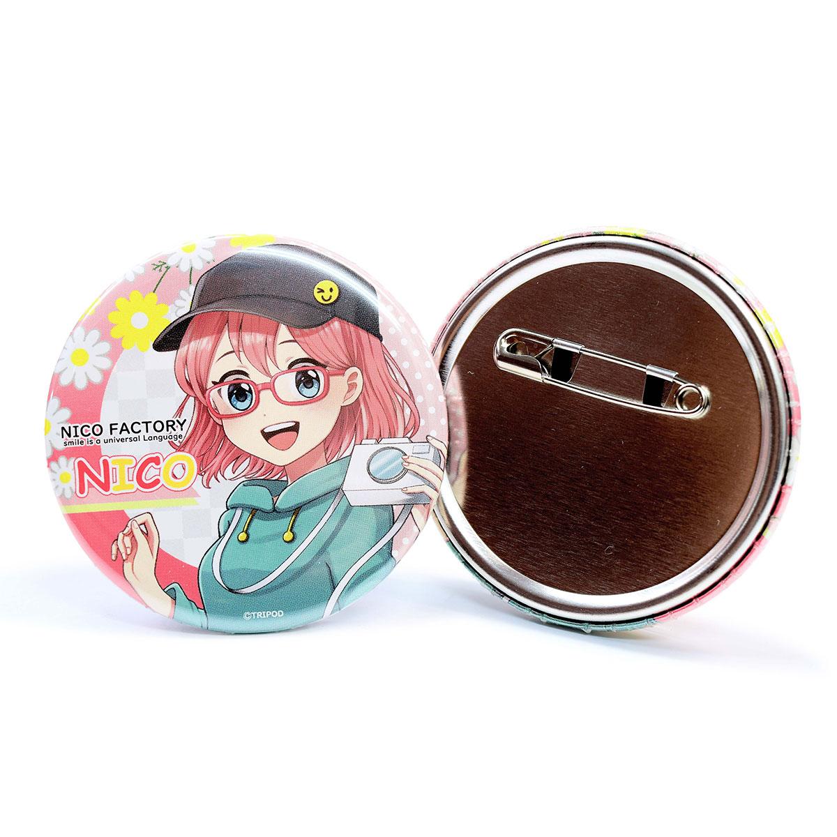 丸型缶バッジ(32mm)